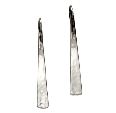 Hammered Taper Earring