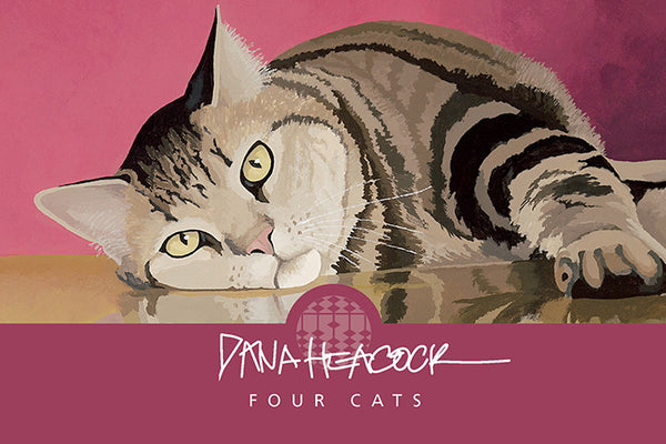 Four Cats Boxed Cards