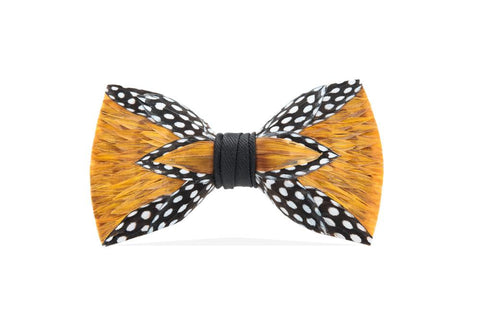 Woco Feather Bow Tie