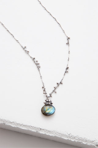 Swarm Necklace with Small Labradorite