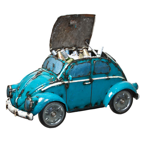 Aqua VW Beetle Cooler