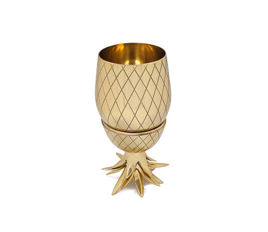 Pineapple cup Large 20 oz | Gold
