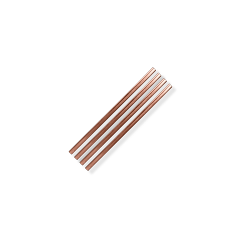 "Metal Straws | 5"" Copper"