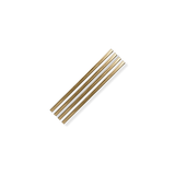 "Metal Straws | 5"" Gold"