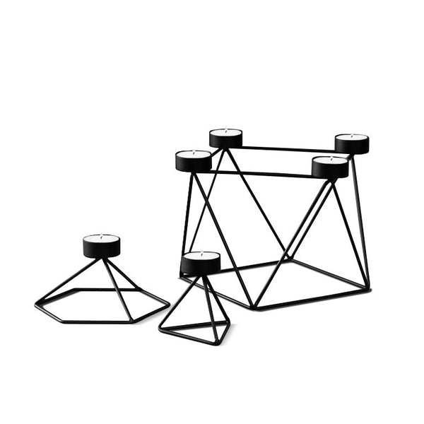 Geo Wire candle holder