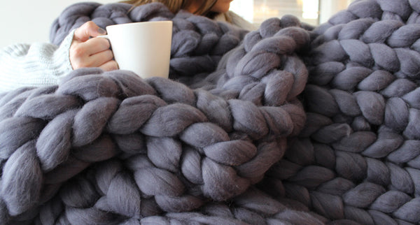 Chunky Blanket (Large Size | 140cm x 178cm)