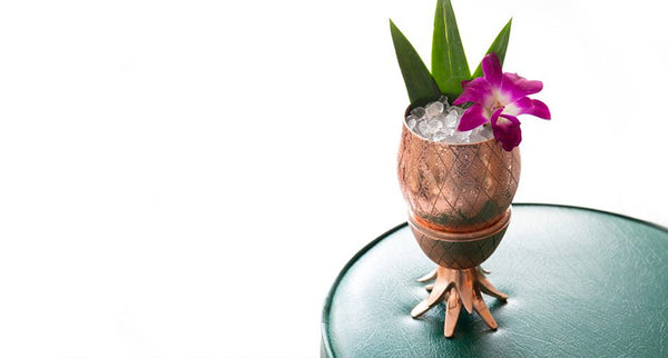 Pineapple Cup 12 oz | Copper