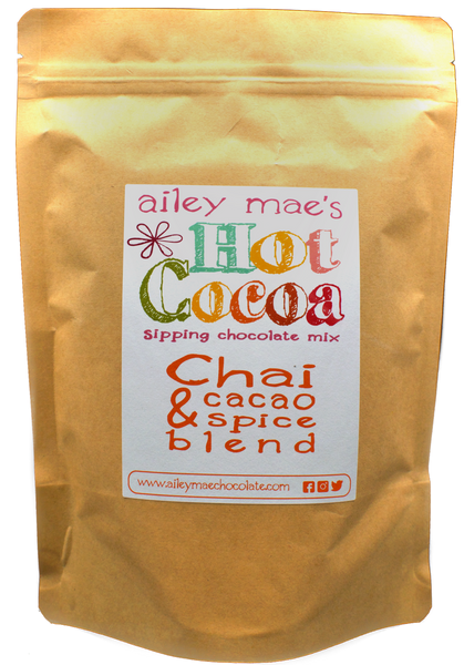 Sipping Chocolate Mix - Chai Spice & Cacao Blend