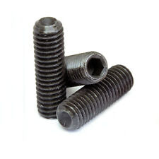"3/8""-16 x 1"" Black Alloy Steel Socket Set Screw"