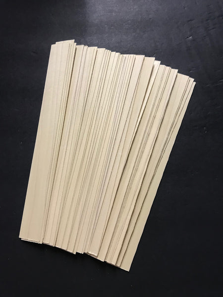 ".040"" White Veneer Strip SALE"