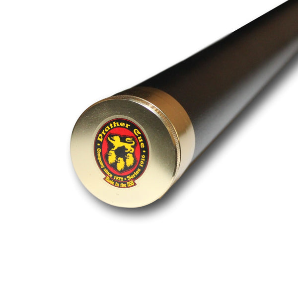 Black Aluminum Cue Tube 1x1