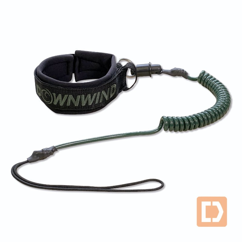 Surfski Leg Leash - quick release - Downwind