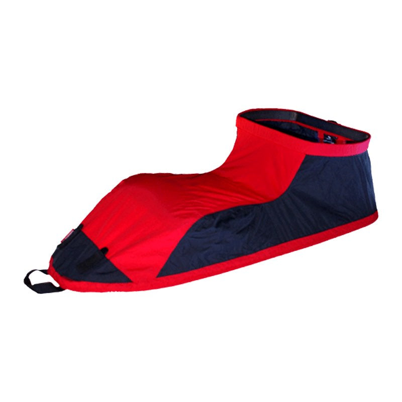 Padler sprayskirt sprint red black