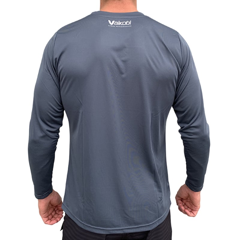 Vaikobi V Ocean L/S Relaxed Fit UV Top gunmetal