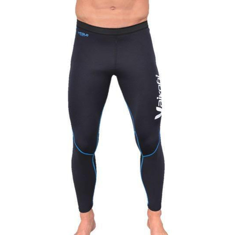 Vaikobi V Cold Flex Neoprene Paddle Pants black-cyan front
