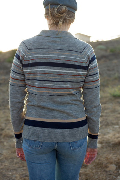 Vintage Career Club Stripe Sweater