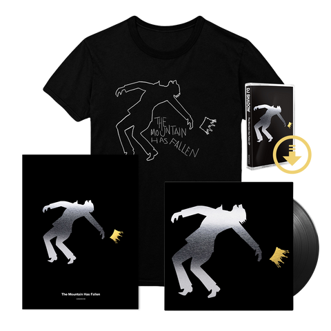 The Mountain Has Fallen EP - Deluxe Signed Reflective Poster Bundle