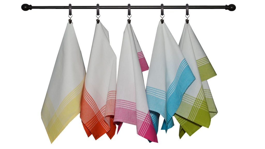 Summer Bold Seasonal Towel Set of 5 - McLeod Border