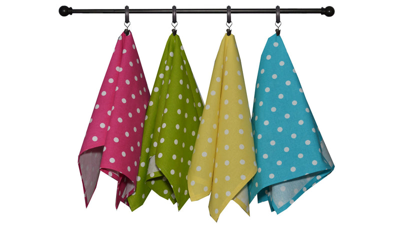 Summer Bold Seasonal Towel Set of 5 - Mini Checks