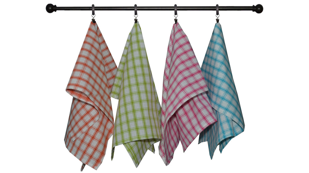 Summer Bold Seasonal Towel Set of 4 - Creekside Plaid
