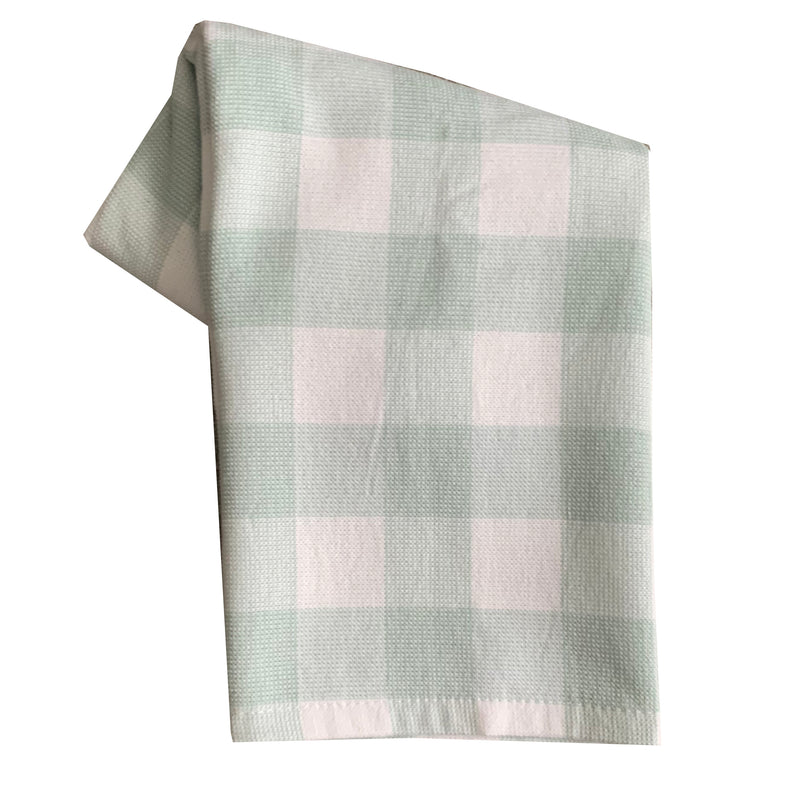 Tea Towel - Dunroven House Terry Cloth Buffalo Check Towel