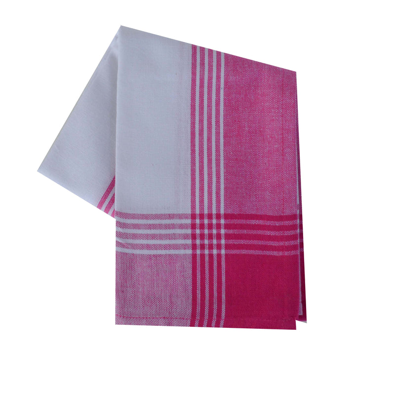 Variety Towel Set - Pink Set of 4