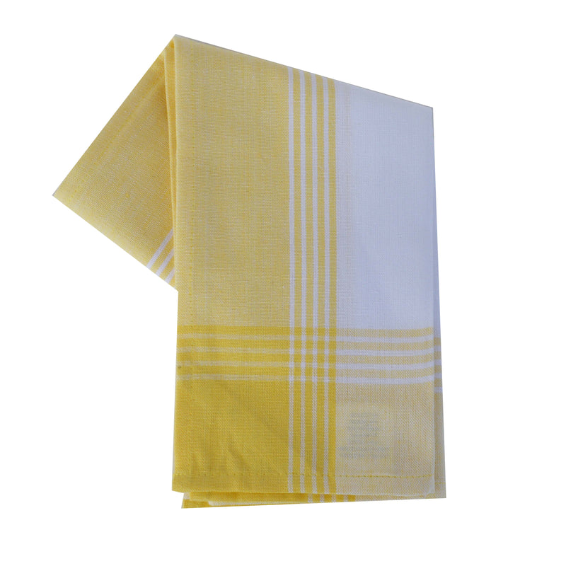 Variety Towel Set - Yellow Set of 4