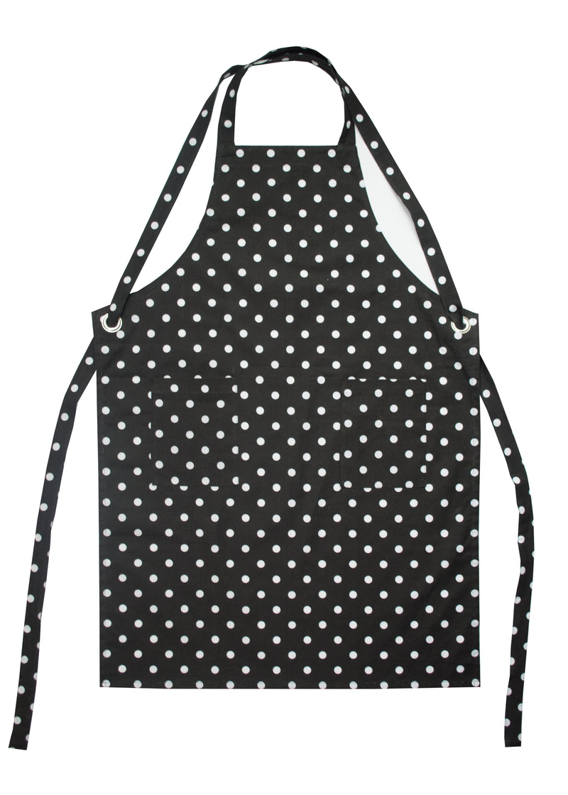 Dunroven House Polka Dot Adult Apron