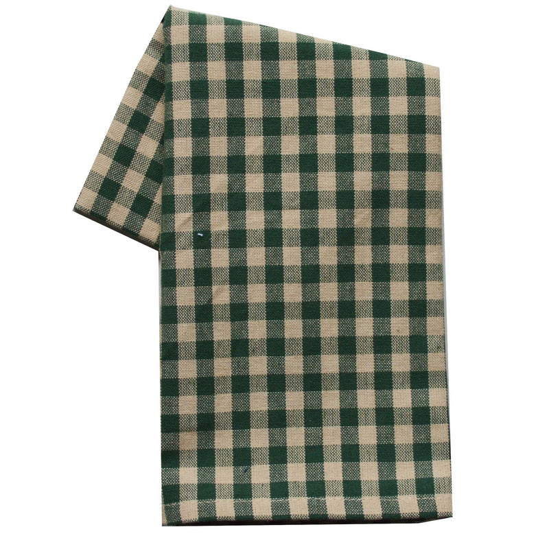 Tea Towel - Dunroven House Small Check Teadye