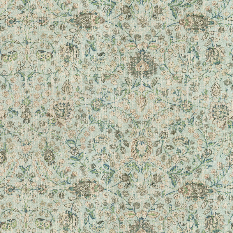 P/K Lifestyles Ancient Arabesque - Mineral 409141 Upholstery Fabric
