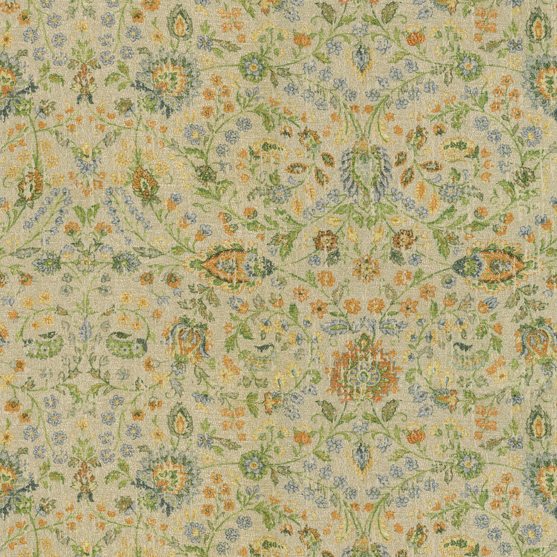 P/K Lifestyles Ancient Arabesque - Sunset 409140 Upholstery Fabric