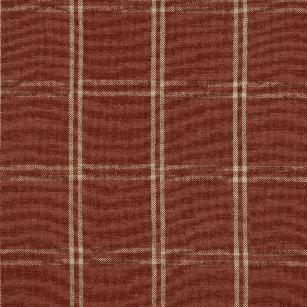 P/K Lifestyles Brent Plaid - Cinnabar 408891 Fabric Swatch