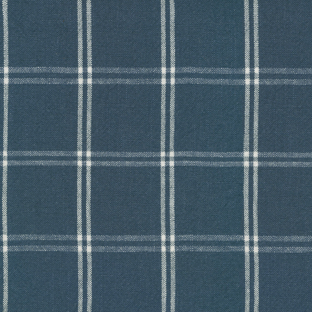 P/K Lifestyles Brent Plaid - Marine 408890 Upholstery Fabric