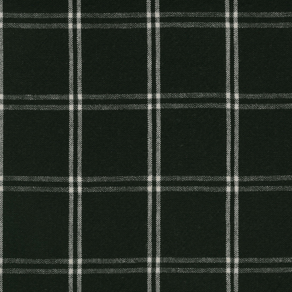 P/K Lifestyles Brent Plaid - Onyx 408892 Upholstery Fabric