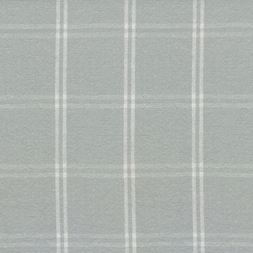 P/K Lifestyles Brent Plaid - Silver 408893 Upholstery Fabric