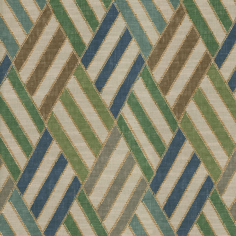 P/K Lifestyles Entwine - Lapis 409392 Upholstery Fabric