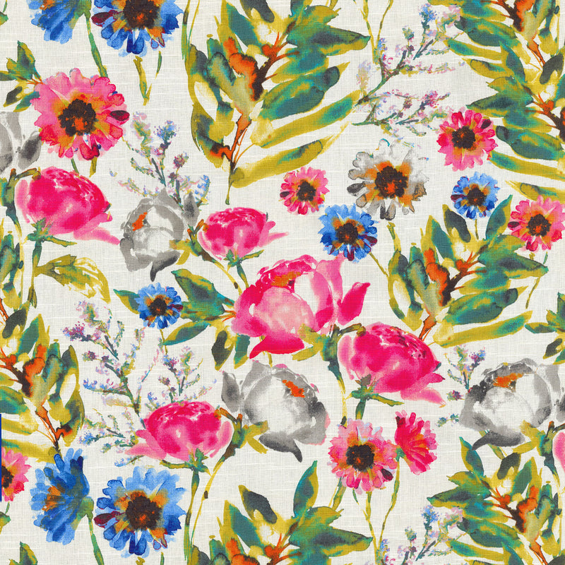 Kelly Ripa Home Flower Mania - Petunia 550411 Fabric Swatch