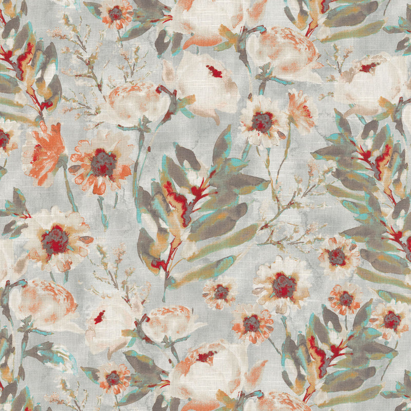 Kelly Ripa Home Flower Mania - Shell 550410 Fabric Swatch