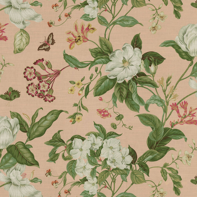 Williamsburg Garden Images - Petals 750670 Upholstery Fabric
