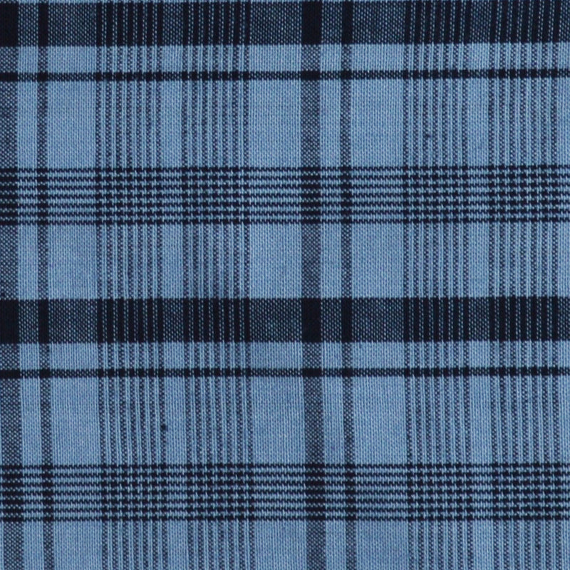 Plaid Print Homespun Fabric