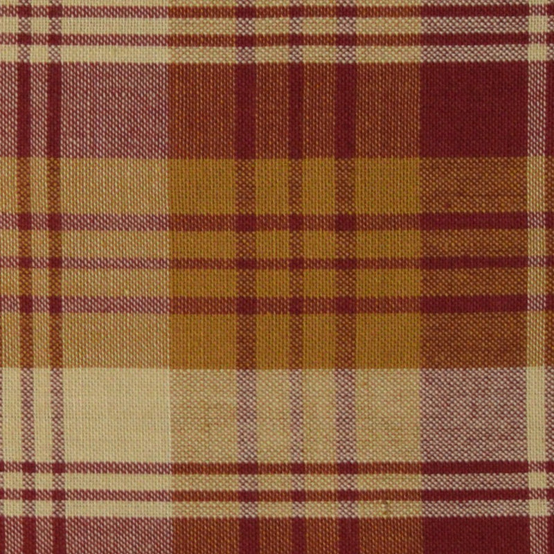 Tri Plaid Print Homespun Fabric