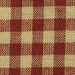 House Check Homespun Fabric Swatch