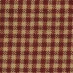 Plaid Print Homespun Fabric Swatch
