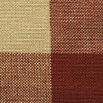 Tri Color Homespun Fabric Swatch