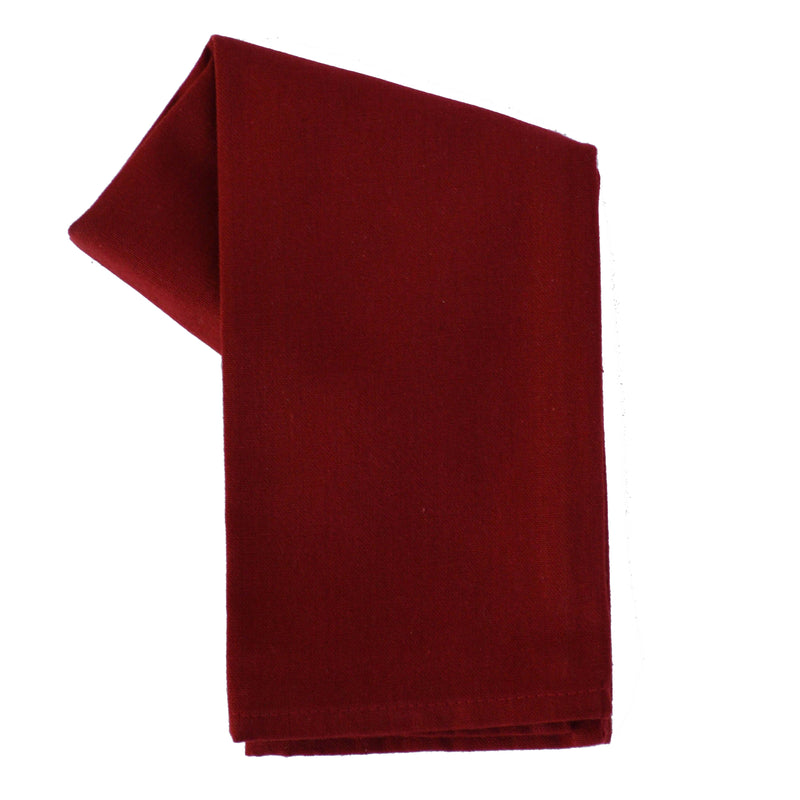 Variety Towel Set - Red and Cream Set of 4