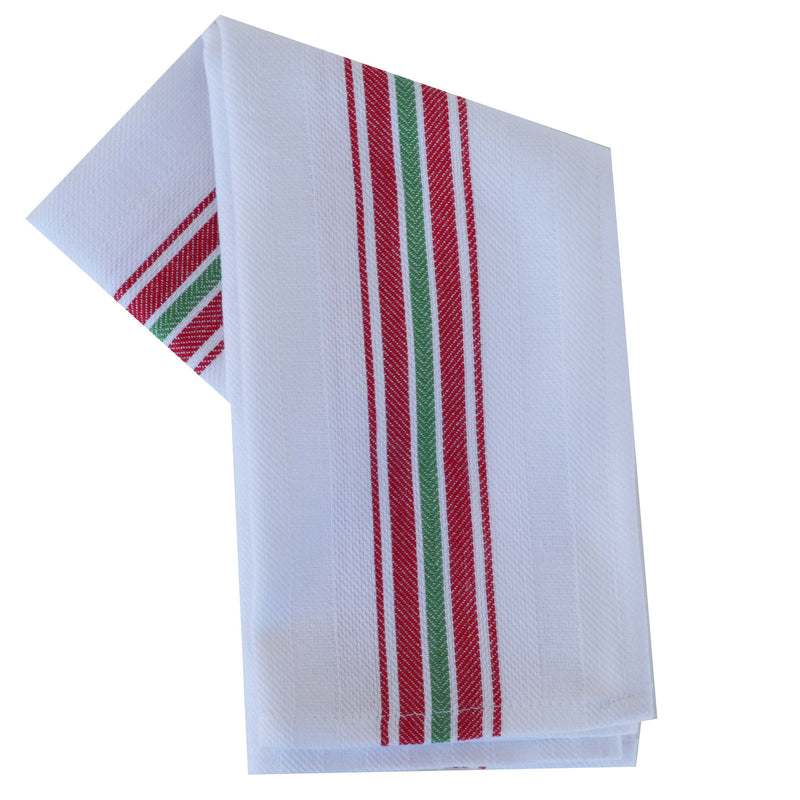 Tea Towel - Dunroven House Vintage Stripe Border