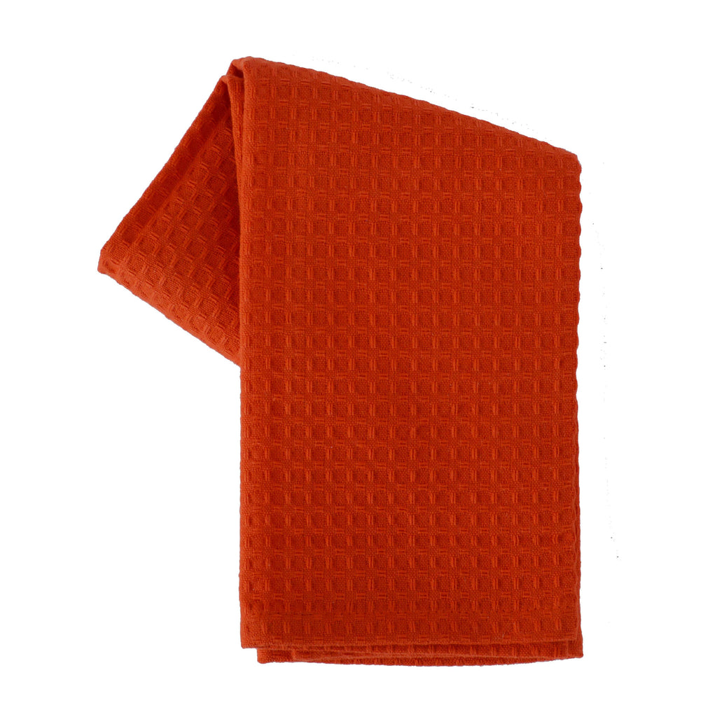 Tea Towel Waffle Weave Solid Color Coco B Kitchen Home