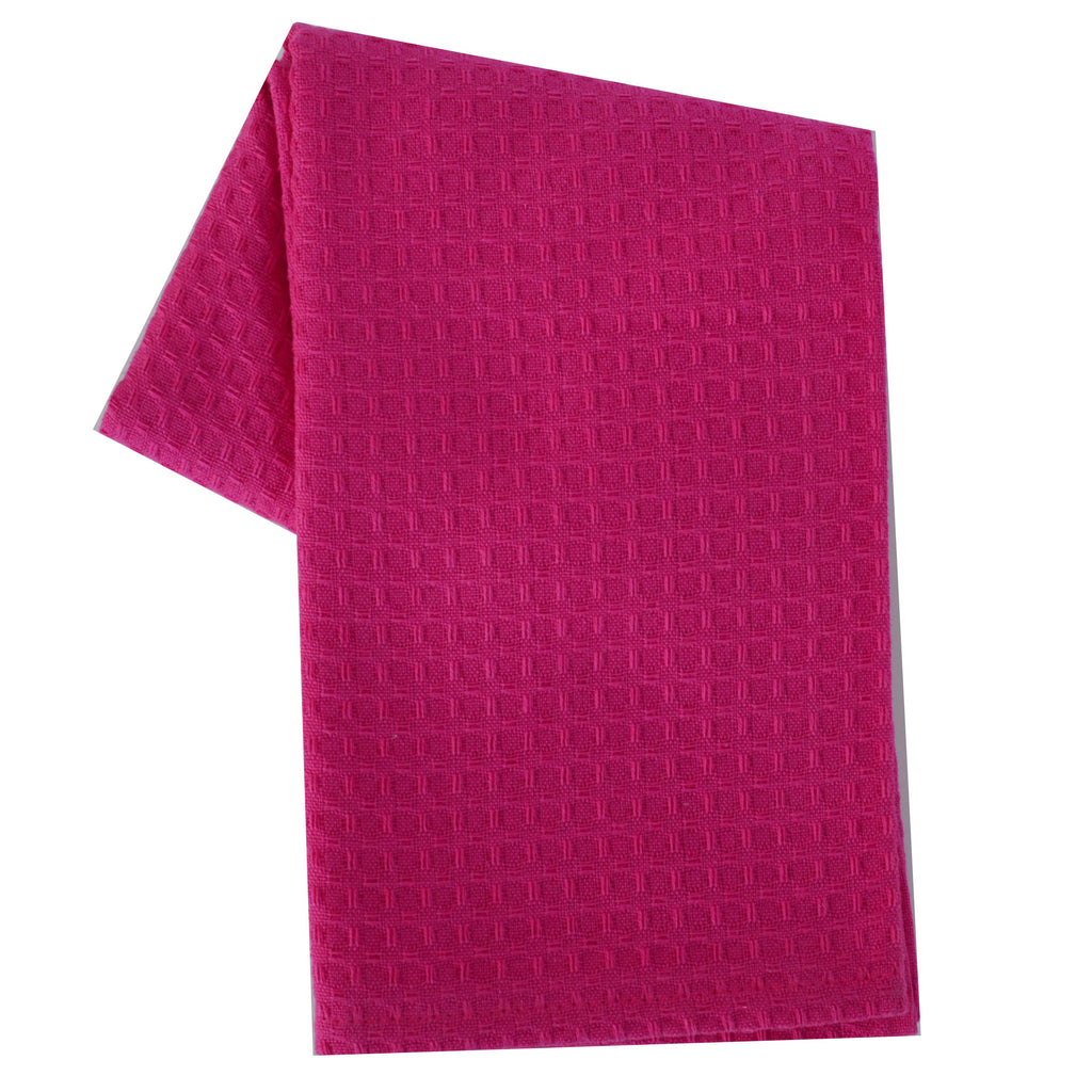 Tea Towel Waffle Weave Solid Color Coco B Kitchen Amp Home