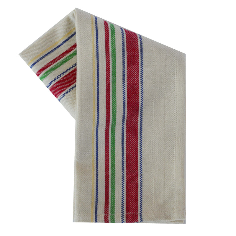 Tea Towel - Dunroven House Large Vintage Stripe Border