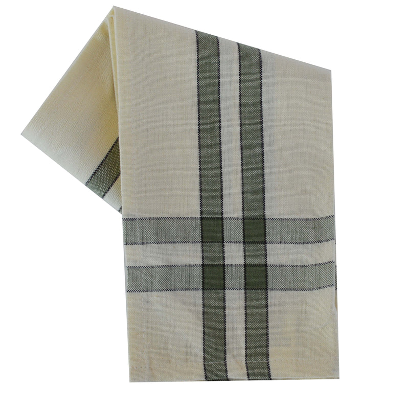 Fall Seasonal Towel Set Two Stripe Border Variety set of 5